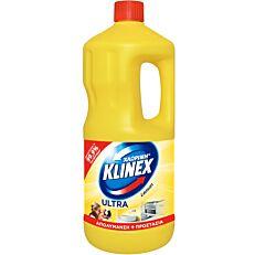 Χλωρίνη KLINEX Ultra με άρωμα λεμόνι (2lt)