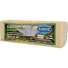 Τυρί ΕΞΑΡΧΟΣ κασέρι ΠΟΠ (~3kg)