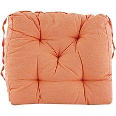 Μαξιλάρι καρέκλας πορτοκαλί 40x40x7cm