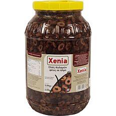 Ελιές XENIA καλαμών σε φέτες (2,5kg)