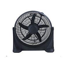 Ανεμιστήρας δαπέδου Box Fan Φ50cm 90W μαύρος