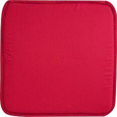 Μαξιλάρι καρέκλας κόκκινο 38x38x2,3cm