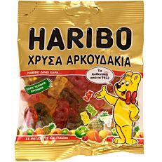 Καραμέλες HARIBO Χρυσά Αρκουδάκια (100g)