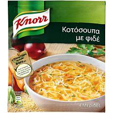 Σούπα σε σκόνη KNORR κοτόσουπα με φιδέ (67g)