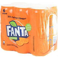 Αναψυκτικό FANTA πορτοκαλάδα (6x330ml)