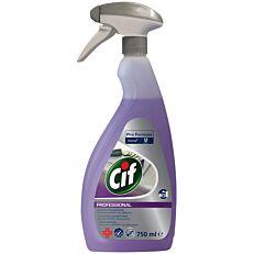 Καθαριστικό και απολυμαντικό CIF professional για την κουζίνα, υγρό (750ml)