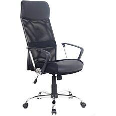 Πολυθρόνα STAMPA διευθυντική mesh μαύρη