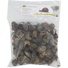Σαλιγκάρια Θράκης με κέλυφος κατεψυγμένα (1kg)