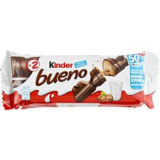 Γκοφρέτα KINDER BUENO με φουντούκι (5x43g)