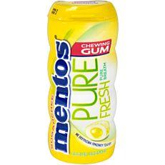 Τσίχλες MENTOS Pure Fresh λεμόνι (33g)