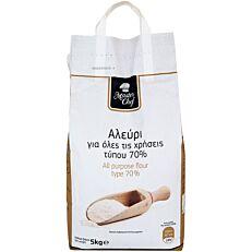 Αλεύρι MASTER CHEF για όλες τις χρήσεις τύπου άλεσης 70% (5x1kg)