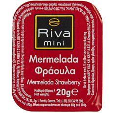 Μερμελάδα RIVA MINI φράουλα (100x20g)