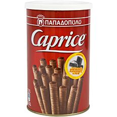 Πουράκια ΠΑΠΑΔΟΠΟΥΛΟΥ Caprice με κρέμα φουντουκιού και κακάο (250g)