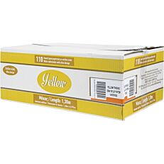 Τραπεζομάντηλα YELLOW με σχέδιο ελιά, λευκά 1x1,3m (110τεμ.)