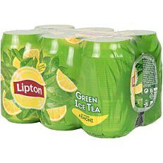 Αφέψημα LIPTON πράσινου τσαγιού με λεμόνι (6x330ml)