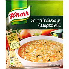Σούπα σε σκόνη KNORR βοδινού (80g)