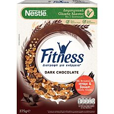 Δημητριακά NESTLE Fitness με μαύρη σοκολάτα (375g)