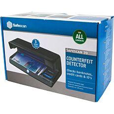 Ανιχνευτής πλαστικών χαρτονομισμάτων SAFESCAN 70