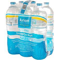 Νερό ARION ACQUA εμφιαλωμένο επιτραπέζιο (6x1,5lt)