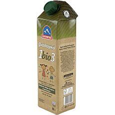 Ρόφημα γάλακτος ΟΛΥΜΠΟΣ 1bio3 υψηλής παστερίωσης βιολογικό (1lt)