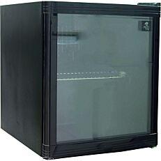 Ψυγειάκι MASTER CHEF με γυάλινη πόρτα 46lt