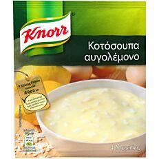 Σούπα σε σκόνη KNORR κοτόσουπα αυγολέμονο (67g)