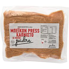 Μπέικον PADRE Press καπνιστό σε φέτες (~1kg)
