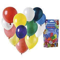 Μπαλόνια σε διάφορα χρώματα (12τεμ.)