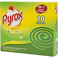 Εντομοαπωθητικό PYROX spiral (10τεμ.)