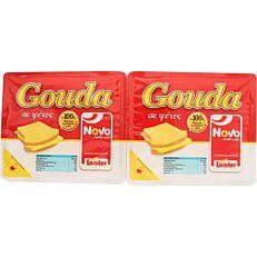 Τυρί NOVO gouda σε φέτες (500g)