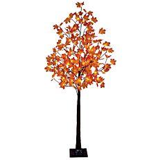 Χριστουγεννιάτικο δέντρο φωτιζόμενο σφένδαμος, για εσωτερικό και εξωτερικό χώρο, 152 led με θερμό φως 1,80m