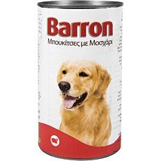 Τροφή BARRON σκύλου βοδινό (1,23kg)