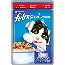 Τροφή FELIX γάτας βοδινό (100g)