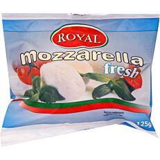 Τυρί ROYAL mozzarella σε νερό (125g)