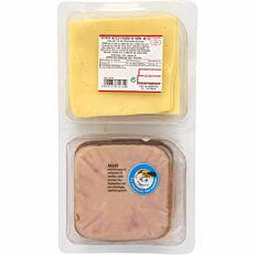 Γαλοπούλα καπνιστή και τυρί gouda ΤΥΠΟΠΟΙΗΤΙΚΗ σε φέτες 20+20 (650g)