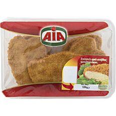 Σνίτσελ κοτόπουλο AIA πανέ νωπό σε συσκευασία τροποποιημένης ατμόσφαιρας (1kg)