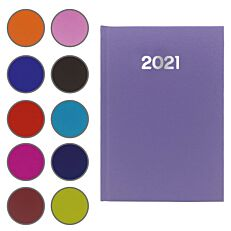 Ημερήσιο ημερολόγιο basics 14x21cm (Παρακαλούμε σημειώστε στα σχόλια την επιλογή του χρώματος που επιθυμείτε)