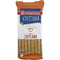 Κριτσίνια ΠΑΠΑΔΟΠΟΥΛΟΥ Μακεδονικά με σουσάμι (130g)