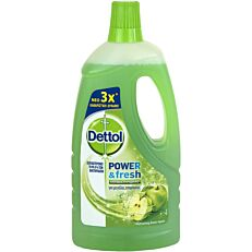 Πολυκαθαριστικό DETTOL για το πάτωμα με άρωμα μήλο, υγρό (1lt)