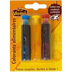 Χρώματα ζαχαροπλαστικής VAHINE (18ml)