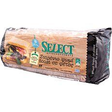 Ψωμί SELECT τοστ λευκό κατεψυγμένο