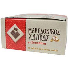 Χαλβάς ΑΦΟΙ ΧΑΪΤΟΓΛΟΥ Μακεδονικός με σοκολάτα (16x40g)