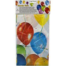 Τραπεζομάντηλα πλαστικά με σχέδιο μπαλόνια 120x180cm