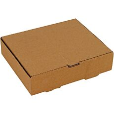 Κουτιά κραφτ μερίδας burger 22x18x5cm (100τεμ.)
