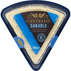 Μπλε τυρί CASTELLO danablu (100g)