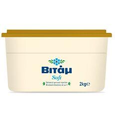 Μαργαρίνη ΒΙΤΑΜ 3/4 soft 60% λιπαρά (2kg)