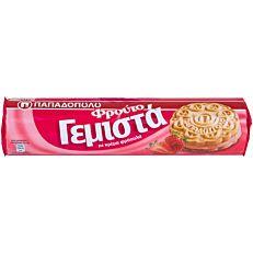 Μπισκότα ΠΑΠΑΔΟΠΟΥΛΟΥ γεμιστά με φράουλα (200g)