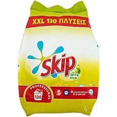 Απορρυπαντικό SKIP Spring Fresh πλυντηρίου ρούχων, σε σκόνη (130μεζ.)