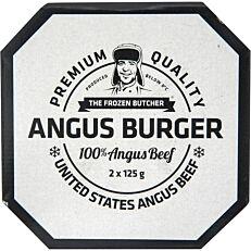 Μπιφτέκι βόειο THE FROZEN BUTCHER Angus κατεψυγμένο (2x125g)