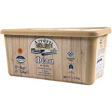 Τυρί ΑΓΝΑΝΤΙ φέτα ΠΟΠ σε μερίδες των 100g (2kg)